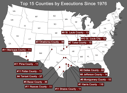 Black Death Map Arbitrariness Death Penalty Information Center