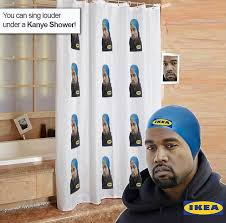 30 Weird And Wonderful Shower Curtains Fun Shower Curtains Kanye West Ikea Memes Sweep The Web After He Said He Wants To