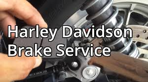 how to harley davidson sportster rear disk brake service youtube