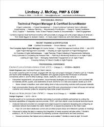 Facilitator Resume Sample Scrum Master Resume 8 Examples In Pdf