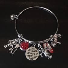 ebay jewelry silver charm bracelet images Wizard of oz charm bracelet ebay JPG