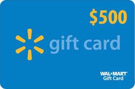 500 gift card 500 walmart gift card winner player news