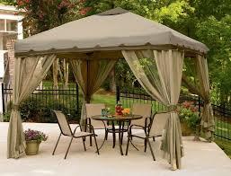 Patio Gazebo 10 X 10 10 X 10 Easy Up Gazebo Canopy Tent Outdoor Portable Patio Canopy