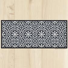 tapis cuisine carreaux ciment marrakech
