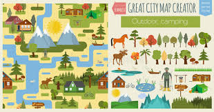 seamless pattern creator great city map creator seamless pattern map cing outdoor c