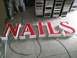 outdoor 3d led sign acrylic aluminum matel letters acpsigns
