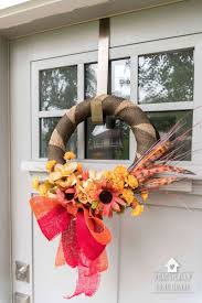 wreath how to make a simple wreath step by step in under ten minutes