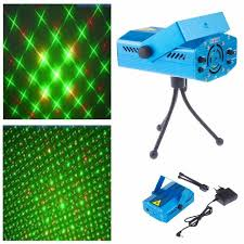 blue led christmas lights projector stage lighting effect