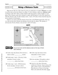 map scales worksheet free worksheets library download and print