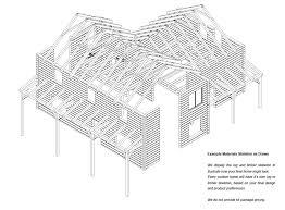 stone creek log cabin floor plan