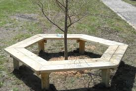 how to build a tree bench kaboom