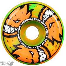 formula 4 spitfire spitfire f4 afterburners conical full skateboard wheels 99a 56mm