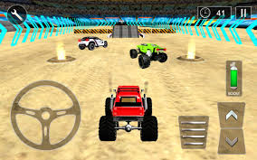 videos of monster trucks racing monster truck derby racing 3d android apps on google play