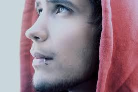 christian andres hoodie lip piercing image 115897