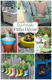 Patio Decor Ideas A Roundup Of 24 Eco Friendly Patio Decor Ideas Green Homes