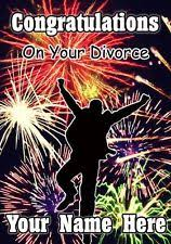 congratulations on your divorce card congratulations on your divorce card ebay