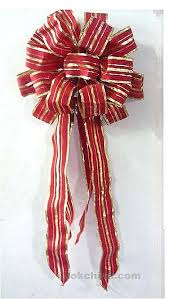 christmas ribbons and bows wholesale gold ribbon bow for made in china 72474