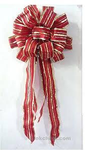 christmas ribbon bows wholesale gold ribbon bow for made in china 72474