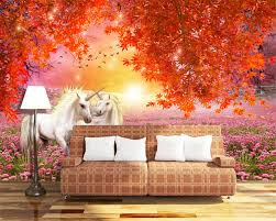 online get cheap maple leaves wallpaper aliexpress com alibaba