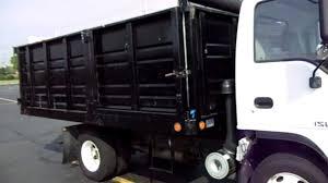 Landscape Truck Beds For Sale 2005 Isuzu Npr Diesel 14 Foot Dump Body For Sale 27k Miles Sold