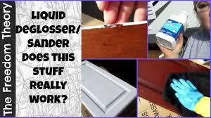 liquid sandpaper kitchen cabinets rv life 3 shopping day liquid sander huh the freedom