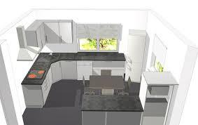 cuisine sol gris la cuisine la maison de vincent et de véro