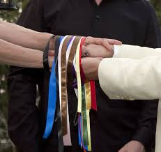 handfasting cords colors ceremony