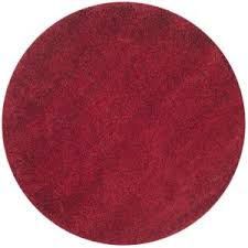 Round Red Rug Rugs Appealing Red Area Rug For Floor Your Home Interior
