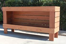 Planter Bench Seat Emtek Furniture Planter Box With Bench Seat