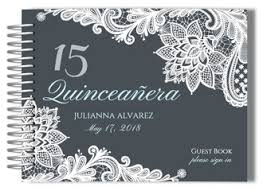 quinceanera guest book quinceanera guestbooks quinceañera guest books custom guest books