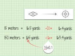 how to convert meters to yards 9 steps with pictures wikihow