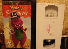 Vhs Barney U0026 Backyard Gang by Rare 1990 Barney And The Backyard Gang Waiting For Santa 98041