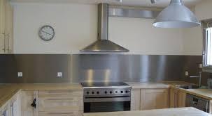 plaque d inox pour cuisine crédence cuisine inox cuisine crédence cuisine