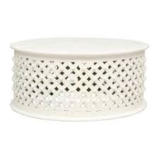 round white wood coffee table coffee tables vintage round white coffee table wall decoration and
