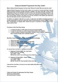 How To Make A Resume For A College Student Department Of Student Affairs