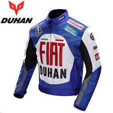 blue motorcycle jacket 600d oxford off road motorcycle jacket duhan professional moto