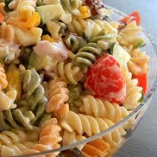 no mayo easy pasta salad allrecipes com recipes pinterest