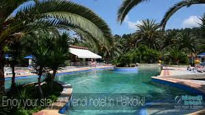 halkidiki beach hotel mendi with swimming pool youtube