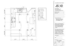 los angeles ca duplex kitchen remodel lighting u0026 electrical plan