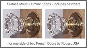Dummy Door Knobs For French Doors - buy single surface mount french door dummy knob perfect replica