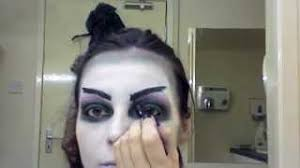 halloween witch zombie inspired make up tutorial youtube