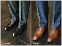 black shoes vs brown shoes beckett u0026 robb
