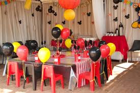 mickey mouse party decorations mickey mouse party decorating ideas masterly pics of clip image