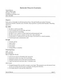 Examples Of Resume Skills List by Valuable Design Bartender Resume Sample 15 10 Bartender Resume