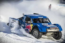 rally truck racing red bull frozen rush 2016 off road truck race on snow