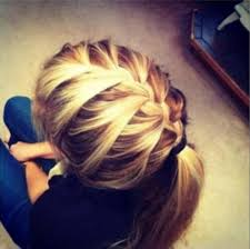 headband ponytail braid headband with ponytail braid ponytail 1 photos