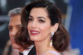 product for tucking hair behind ears amal clooney s make up and hair how to at suburbicon premiere