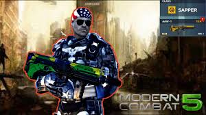 modern combat 5 aaw 1 review u s patriot armor gameplay mc5
