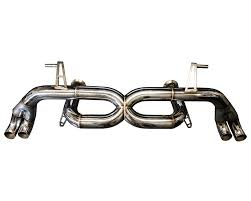 eurowise straight pipe exhaust system audi r8 4 2l v8 08 12