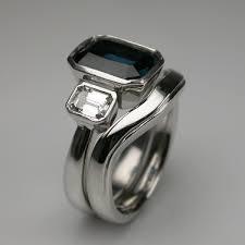 art deco style engagement ring u0026 wedding ring set london bespoke